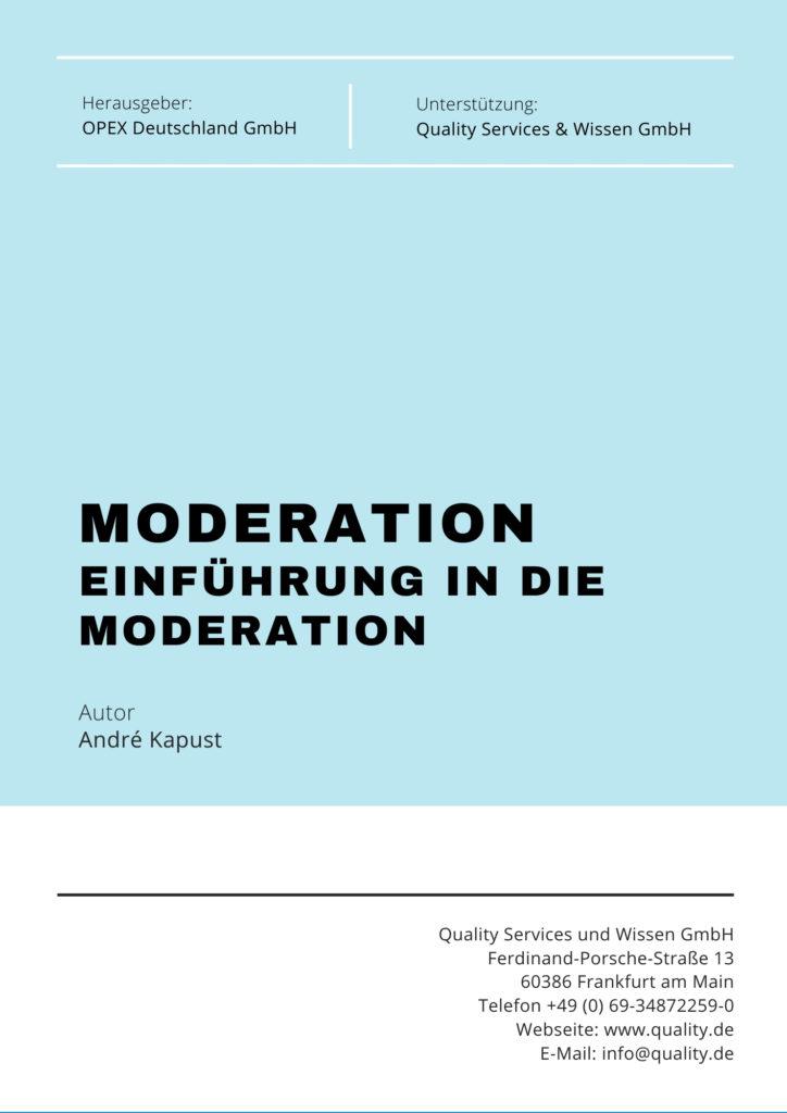 einfuhrung in die moderation